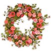 National Tree Co. Mixed Flower Wreath