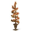 National Tree Co. Berry and Leaf Vine Round Topiary Tree in Urn