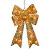 National Tree Co. Decorative Décor Sisal Bow Christmas Decoration
