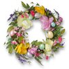 National Tree Co. Tulip and Easter Egg Wreath