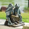 SPI Home Dining Frogs Garden Statue
