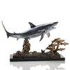 SPI Home Shark with Prey Figurine