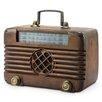 SPI Home Old Time Radio Bluetooth Speaker