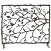 SPI Home Bird and Branch Aluminum Fireplace Screen
