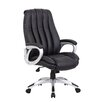 Boss Office Products High-Back Executive Chair with Mesh Inserts