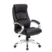 Boss Office Products High-Back Executive Chair with Spring Tilt