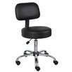 Boss Office Products Height Adjustable Doctor's Stool with Cushion