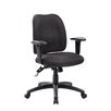 Boss Office Products Mid-Back Task Chair with Arms