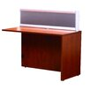 Boss Office Products Reception Desk Return