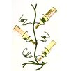 Metrotex Designs Wild Rose 6 Bottle Tabletop Wine Rack