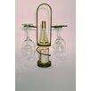 Metrotex Designs Industrial Evolution 1 Bottle Tabletop Wine Glass Rack