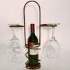 Metrotex Designs Industrial Evolution 1 Tabletop Wine Glass Rack