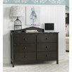 Fisher-Price RTA 6 Drawer Dresser