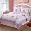 My World Fairy Princess Garden Quilt Set