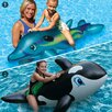Poolmaster Dolphin Whale Jumbo Rider Combo Pool Raft Set