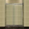 "Aston Completely 75"" x 60"" Sliding Frameless Shower Door"