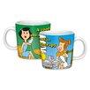 R Squared Warner Bros. Flintstones Phone Friends Mug Set