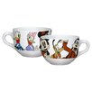 R Squared Disney Mickey and Friends Soup Mug Set