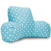 Majestic Home Goods Polka Dot Cotton Bed Rest Pillow
