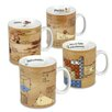 Konitz Assorted Science 15 oz. Mugs 4 Piece Set