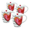 Konitz Love Song Mug (Set of 4)