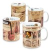Konitz 4 Piece Knowledge Assorted Mug Set