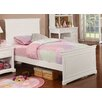 Bolton Furniture Cambridge Full Wood Panel Bed with Headboard and Footboard