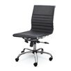 Winport Industries Mid-Back Leather Conference Chair