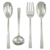 Ginkgo Stainless Steel President 4 Piece Hostess Set