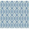 "York Wallcoverings Ashford Geometrics 27' x 27"" Garden Pergola Geometric Wallpaper"