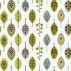 "York Wallcoverings Bistro 750 33' x 20.5"" Retro Leaves Foiled Wallpaper"