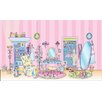York Wallcoverings Mural Portfolio II Playing Fashion Dress Up Wall Mural