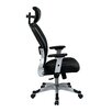 "Office Star Products Space 22.5"" Eco Leather Seat Chair with Headrest"