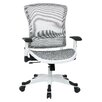 "Office Star Products Pulsar 22.75"" Deluxe Mesh Managers Chair with Adjustable Flip Arms"