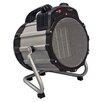 Comfort Zone 750 Watt Portable Electric Fan Utility Heater