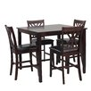 Powell Furniture Daniel  5 Piece Counter Height Dining Set