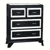 Powell Furniture Glamour 4 Drawer Chest