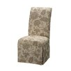 Powell Furniture Classic Seating Parson Chair Skirted Slipcover