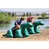 Little Tikes Commercial Dinosaur in Ground Playground Sculpture