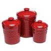 Signature Housewares 3 Piece Sorrento Canister & Lid Set