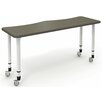 "Paragon Furniture 64"" x 22"" Rectangular Classroom Table"