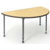 "Paragon Furniture A&D 30"" Half Moon Classroom Table"