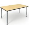 "Paragon Furniture A&D 30"" x 60"" Rectangular Classroom Table"