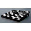 Victory Tailgate Wavy Checkered Flag Themed Version 2 Cornhole Game Set
