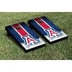 Victory Tailgate NCAA Grunge Version 1 Cornhole Game Set