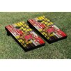 Victory Tailgate NCAA Maryland Terrapins Weathered Flag Version Cornhole Game Set