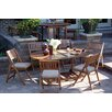 Outdoor Interiors 7 Piece Dining Set with Cushions