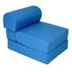 Elite Products Royal Blue Children's Foam Sleeper Chair