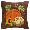 C & F Enterprises Autumn Splendo Rice Stitch Throw Pillow
