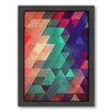 Americanflat Xx Ymbry Framed Graphic Art on Canvas
